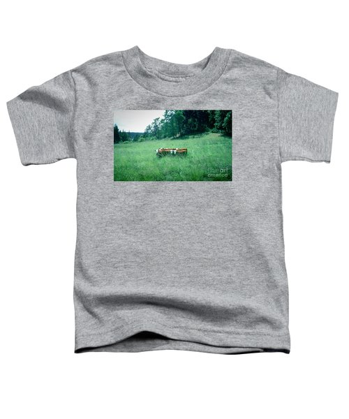 Toddler T-Shirt featuring the photograph Looking Back by Peter Simmons