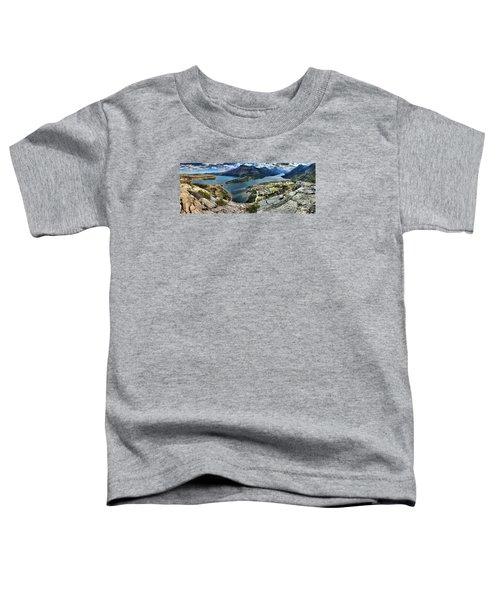 Looking Down On Waterton Lakes Toddler T-Shirt
