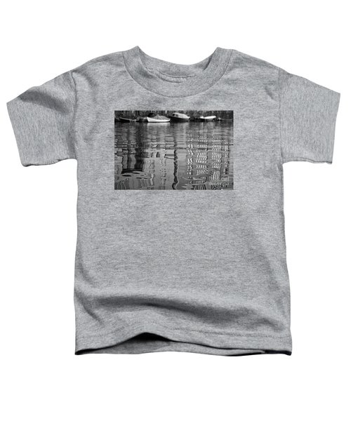 Looking In The Water Toddler T-Shirt