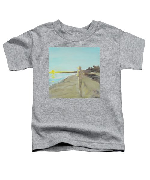 Looking South Tryptic Part 3 Toddler T-Shirt