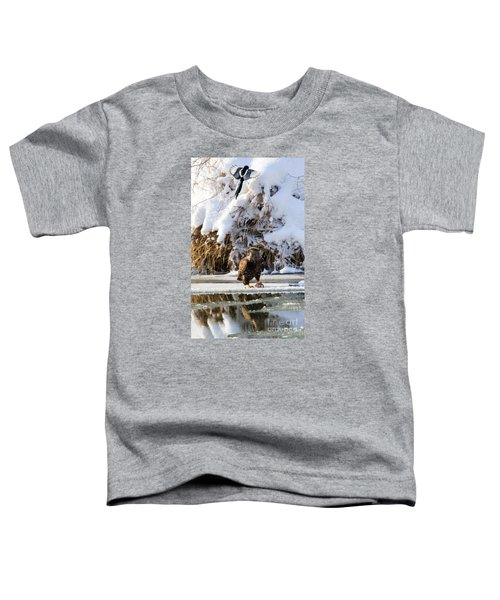 Lookout Above Toddler T-Shirt by Mike Dawson