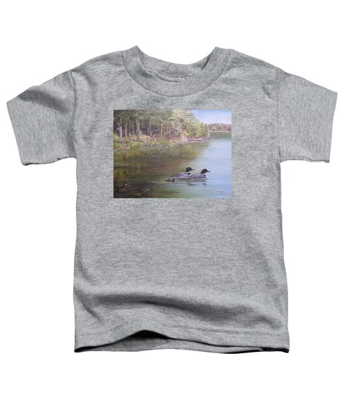 Loon Family 1 Toddler T-Shirt
