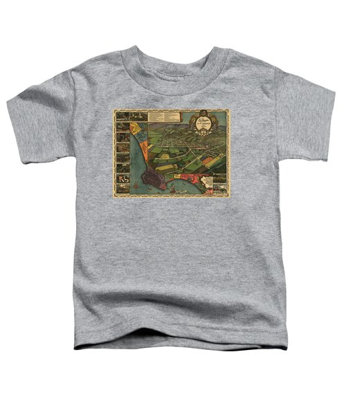 Los Angeles As It Appeared In 1871 Toddler T-Shirt