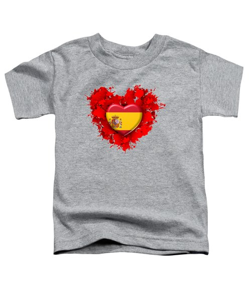 Love Spain 1 Toddler T-Shirt