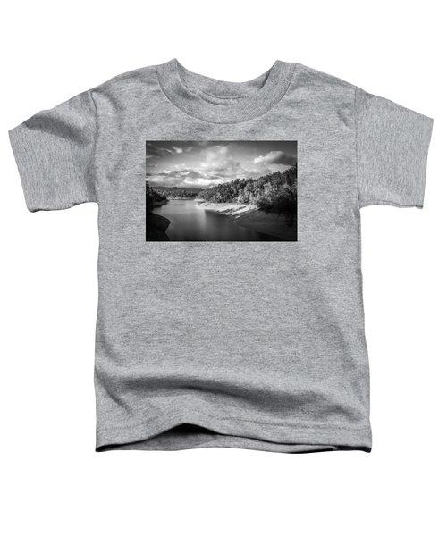 Low Sun Across The Nantahala River As The Clouds Clear Away Toddler T-Shirt