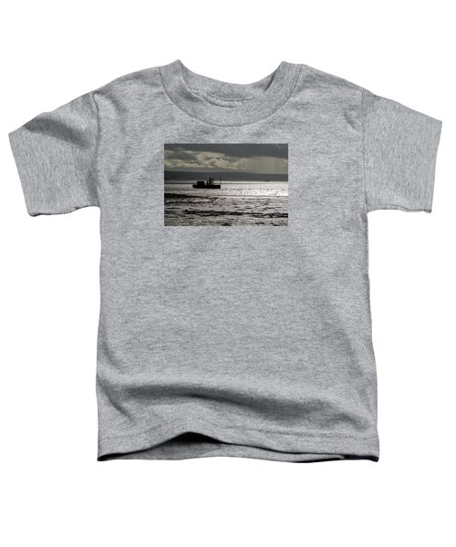 Toddler T-Shirt featuring the photograph Low Tide In Isle Of Skye by Dubi Roman