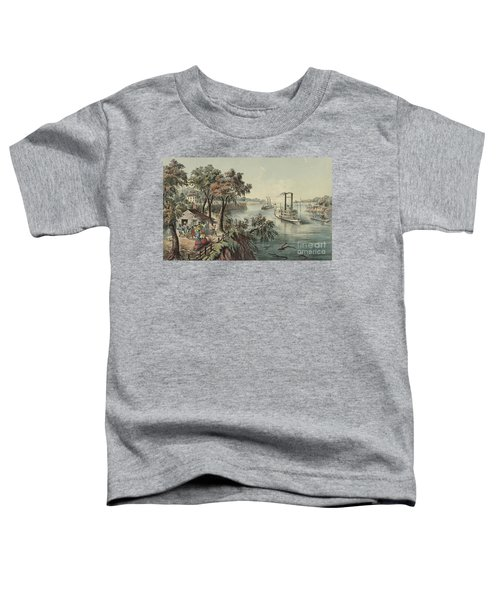Low Water In The Mississippi, 1868  Toddler T-Shirt