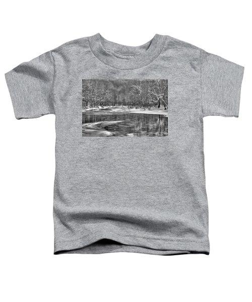Loyalhanna Creek Bw - Wat0097 Toddler T-Shirt