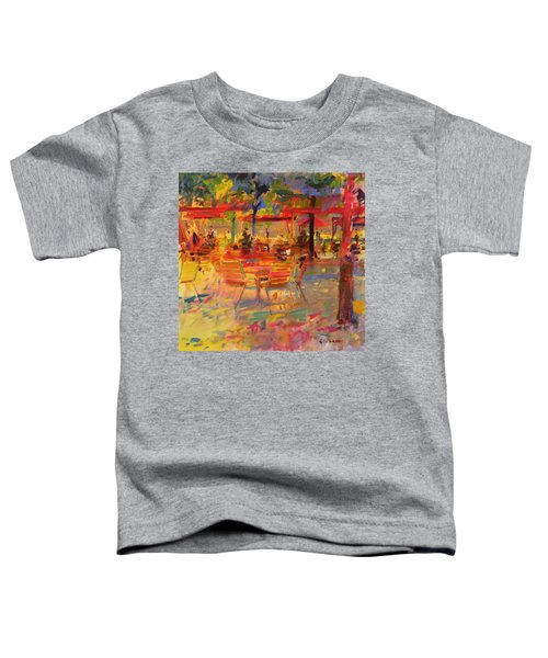 Lunch On The Terrace Toddler T-Shirt