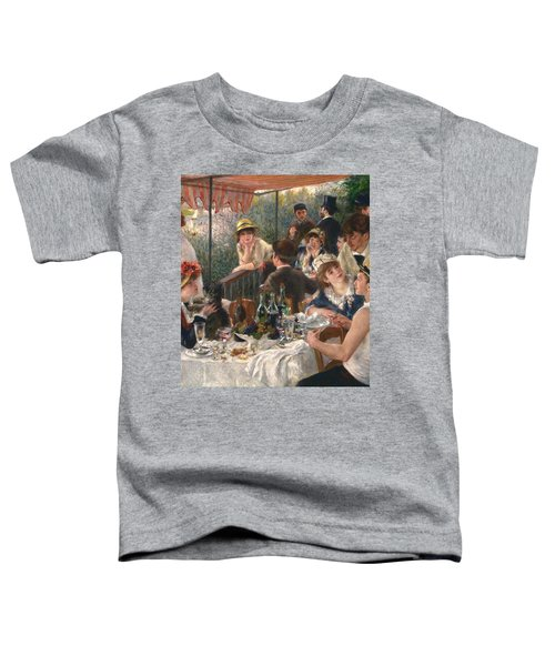 Luncheon Of The Boating Party By Renoir Toddler T-Shirt