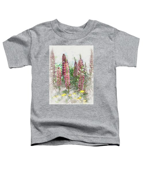 Lupine Toddler T-Shirt
