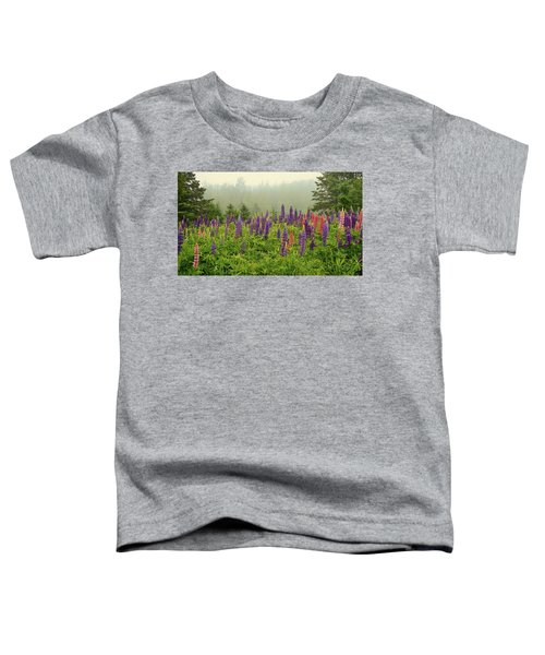 Lupins In The Mist Toddler T-Shirt
