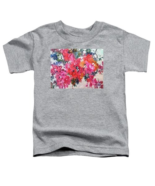 Luscious Bougainvillea Toddler T-Shirt