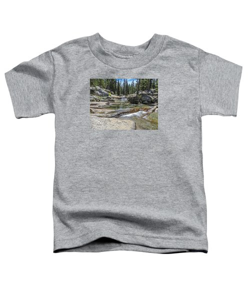 Lyell Fork Tuolomne River Yosemite National Park Toddler T-Shirt