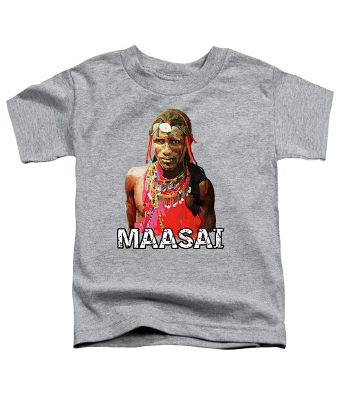 Maasai Moran Toddler T-Shirt