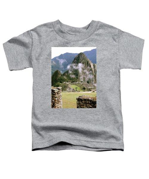 Machu Picchu In The Morning Light Toddler T-Shirt