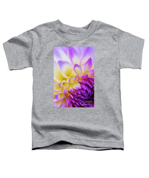 Macro Dahlia Toddler T-Shirt