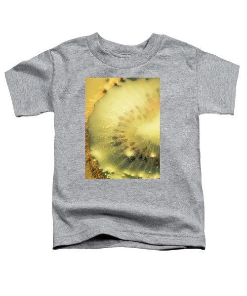 Macro Shot Of Submerged Kiwi Fruit Toddler T-Shirt