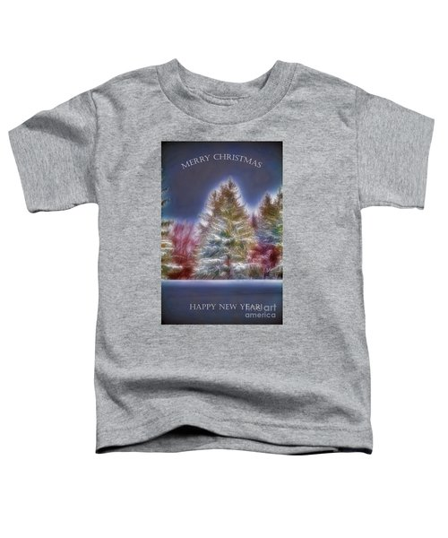 Merrry Christmas And Happy New Year Toddler T-Shirt
