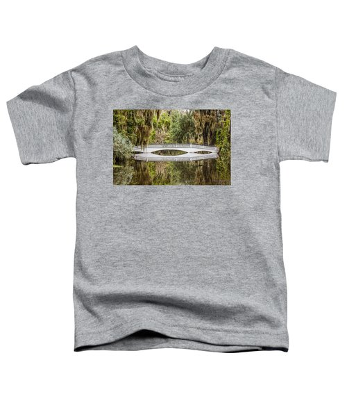 Magnolia Plantation Gardens Bridge Toddler T-Shirt