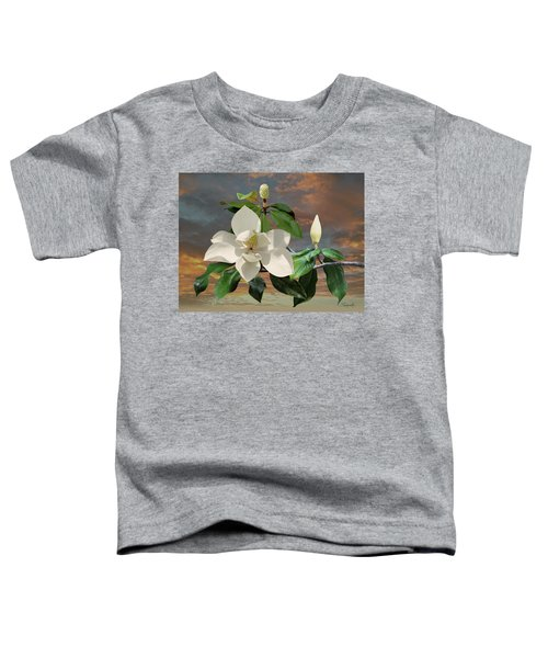 Magnolia Sunset Toddler T-Shirt