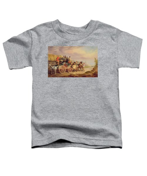 Mail Coaches On The Road - The 'quicksilver'  Toddler T-Shirt