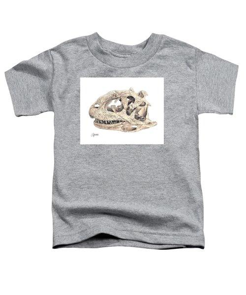 Majungasaur Skull Toddler T-Shirt
