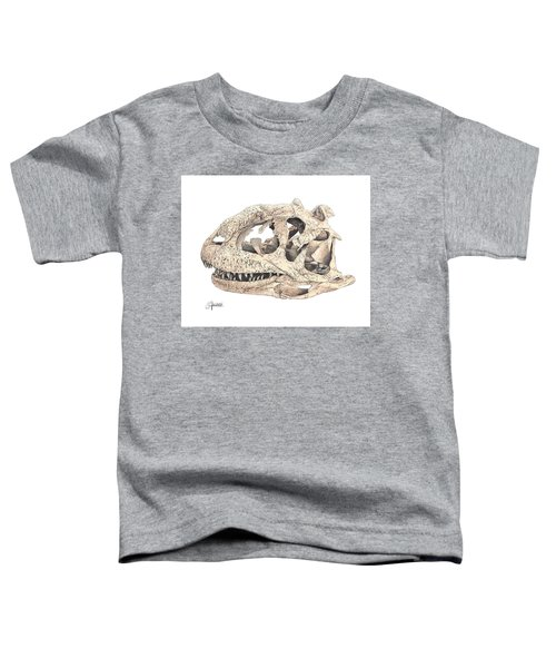 Majungasaur Skull Toddler T-Shirt