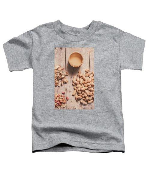 Making Peanut Butter Toddler T-Shirt