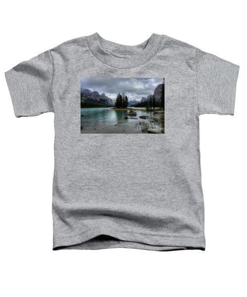 Maligne Lake Spirit Island Jasper National Park Alberta Canada Toddler T-Shirt
