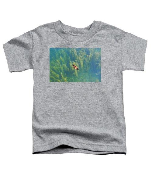 Mallard Over Seaweed Toddler T-Shirt