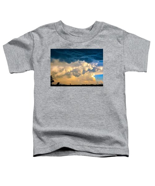 Mammatus Clouds At Sunset Toddler T-Shirt