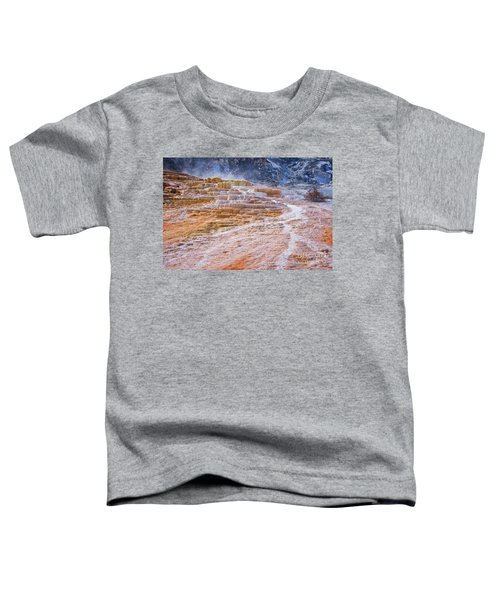 Mammoth Terraces Of Yellowstone Toddler T-Shirt