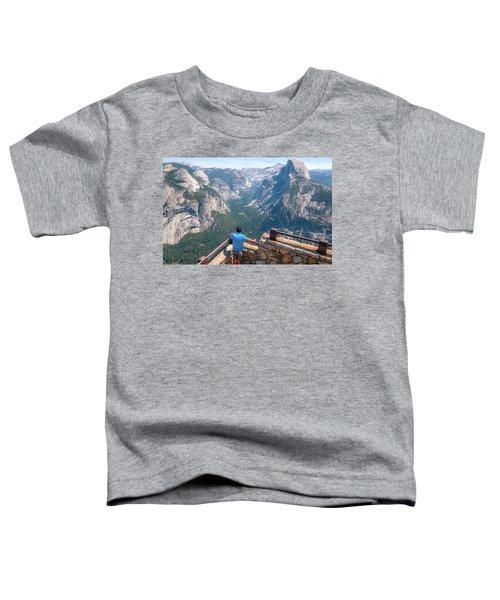 Man In Awe- Toddler T-Shirt