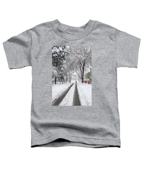 Man On The Road Toddler T-Shirt