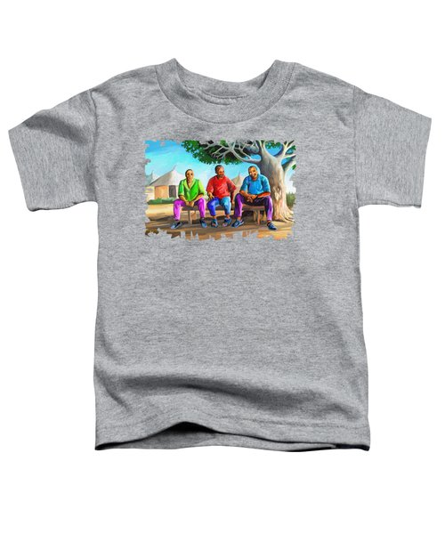Man Talk Toddler T-Shirt