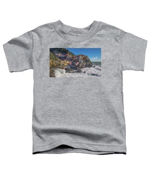 Manarola In Cinque Terre  Toddler T-Shirt