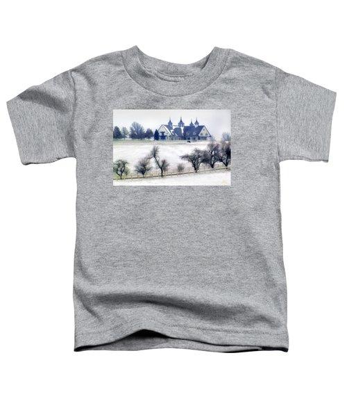Manchester Farm In Winter Toddler T-Shirt