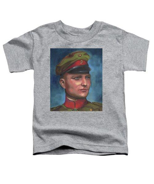 Manfred Von Richthofen The Red Baron Toddler T-Shirt
