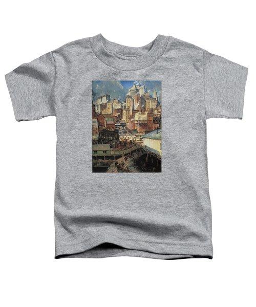 Manhattan Rhythms Toddler T-Shirt