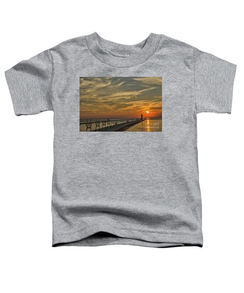 Manistee North Pierhead Lighthouse Toddler T-Shirt