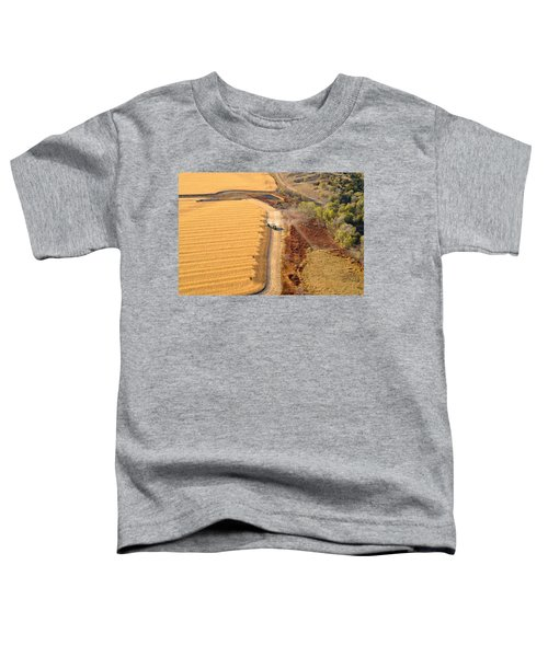 Many Acres To Harvest Toddler T-Shirt