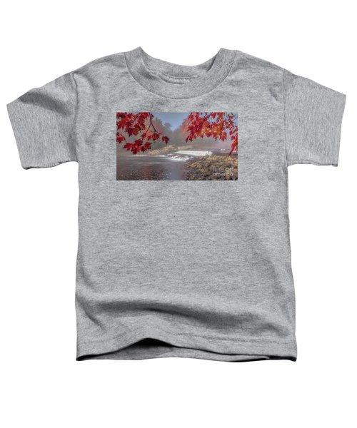 Maple Leaf Frame Ws Toddler T-Shirt