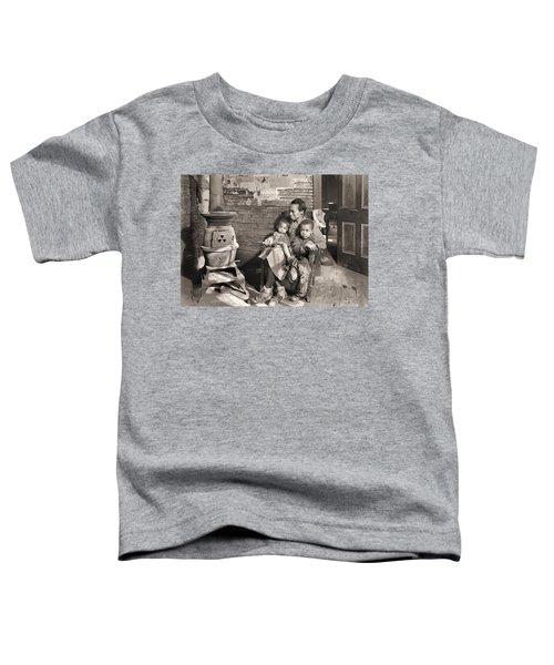 March 1937 Scott's Run, West Virginia Johnson Family. Toddler T-Shirt