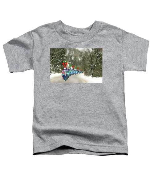 Marching Ornaments Chili Peppers Toddler T-Shirt