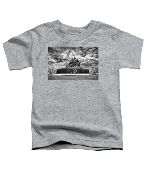 Marine Corps War Memorial Toddler T-Shirt