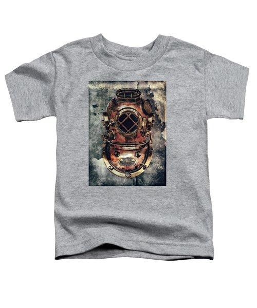 Mark V - Navy Deep Diving Helmet - 1943 Toddler T-Shirt