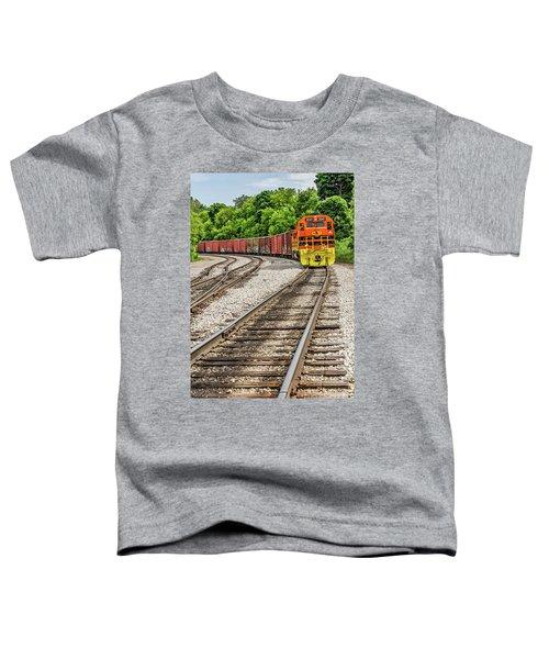 Marquette Rail Carrier Toddler T-Shirt