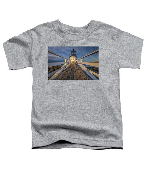 Marshall Point Lighthouse At Sunrise Toddler T-Shirt