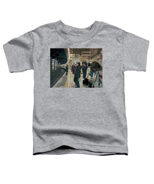Marunouchi Line, Tokyo Metro Japan Poster 2 Toddler T-Shirt
